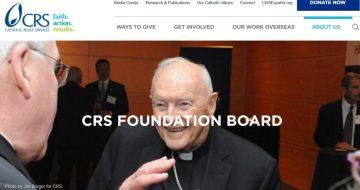 Catholic Relief Services' McCarrick Problem