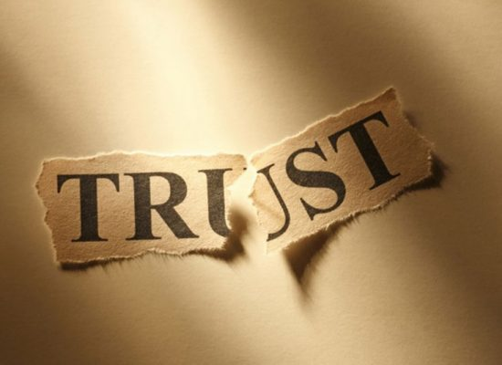 Trust: Either You Have It or You Don't