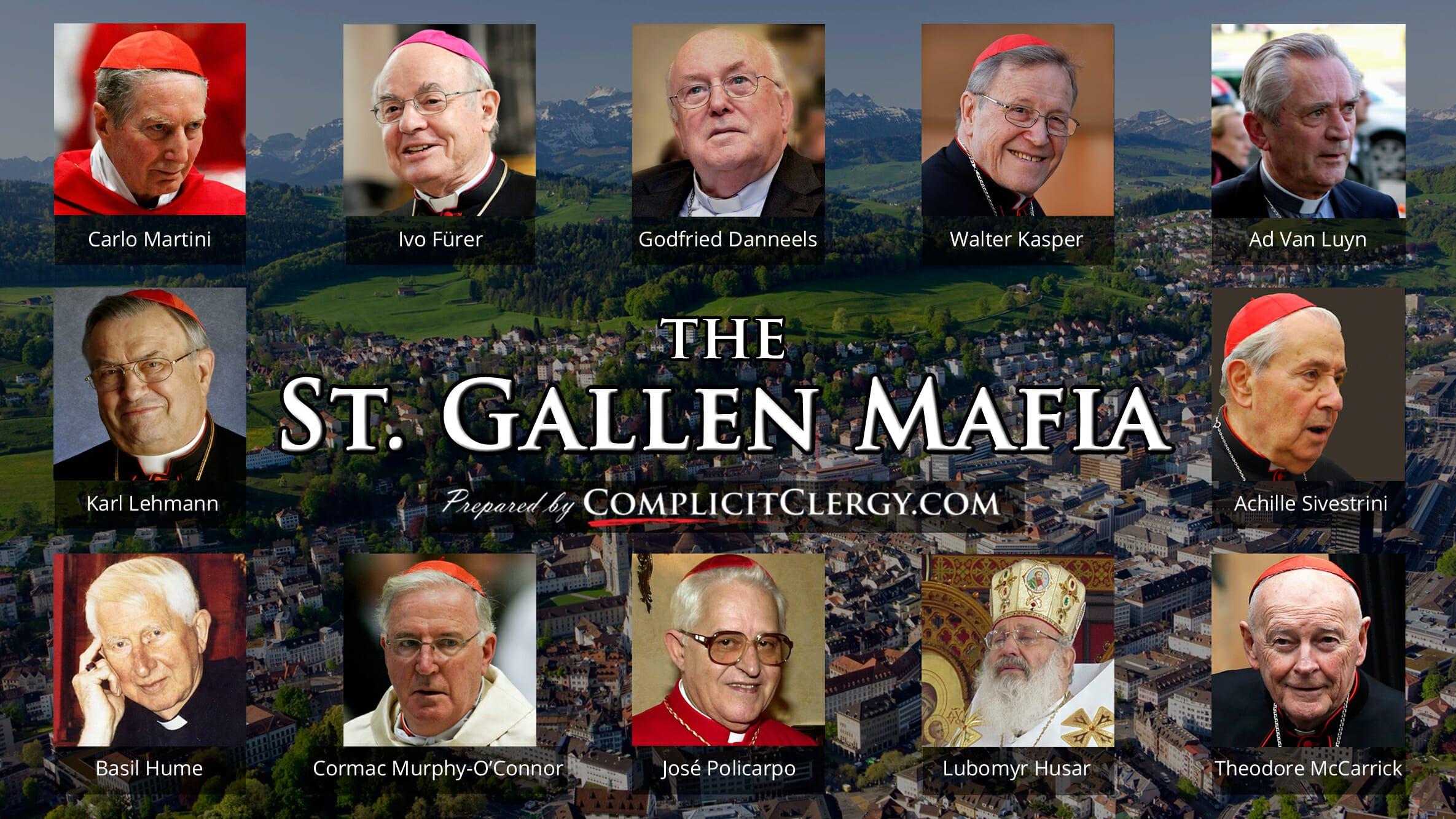 Catholic crime corruption freemasonry heresy contraception politics modernism St. Gallen Luciferiansm Nazi