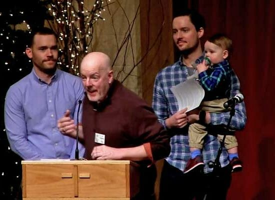 Priest Gives Pulpit to Homosexual Couple