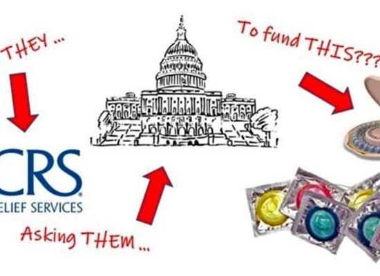 Catholic Relief Services Asks Congress to Fund Major Contraception-Pushing Agencies