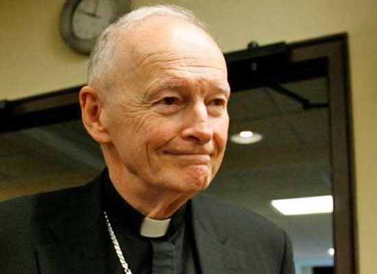 Theodore McCarrick: From Cardinal to Commoner
