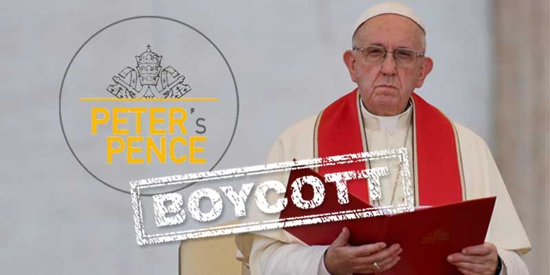 Boycott Peter's Pence on June 30, 2019 | Complicit Clergy