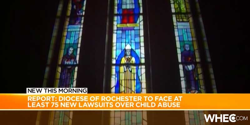 Report: Diocese of Rochester Could Face at Least 75 New Lawsuits Over