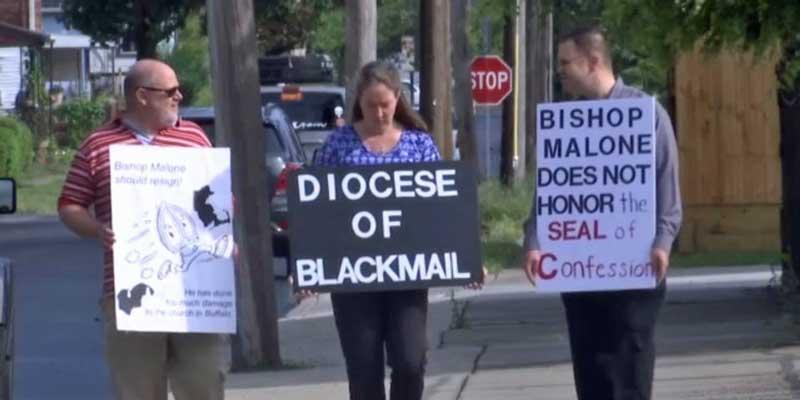WATCH: Former Seminarian Calls for Bishop Malone's Resignation