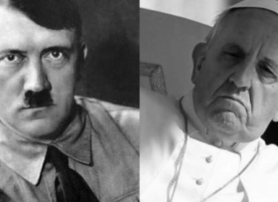 Pope Compares Anti-LGBT Politicians to Hitler