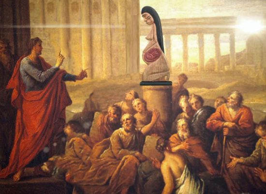 Pachamama and the Gods of Ancient Greece. The Lesson of Paul in Athens.