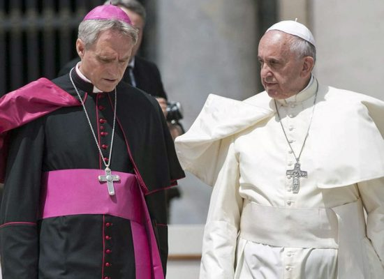 Pope Francis Puts Archbishop Gänswein On Leave?