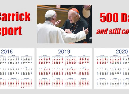 Waiting on the Promised McCarrick Report: 500 Days and Counting