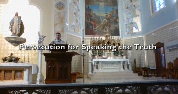 WATCH: Persecution for Speaking the Truth