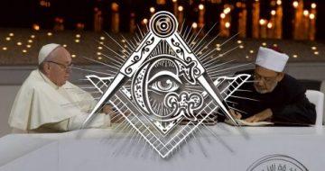 Italian Freemasonry Magazine Strongly Endorses Pope Francis' Human Fraternity Document