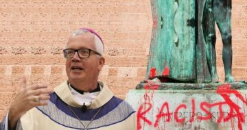 'I Cannot Remain Silent': Madison's Bishop  Catholic Bishop Condemns Destruction of Statues