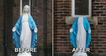 Toronto: Virgin Mary Statue Decapitated