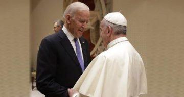 The Vatican Goes to Bat for Biden