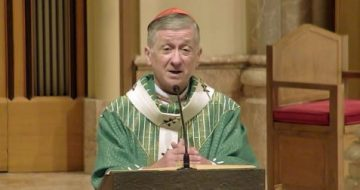 WATCH: Did Cardinal Cupich Just Use His Homily To Provide Cover For Joe Biden?
