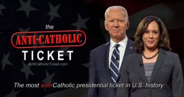 Lay Catholics Seek to Expose the Most Anti-Catholic Presidential Ticket in U.S. History