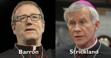 Bishop Strickland Schools Bishop Barron on the Truths of the Faith