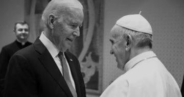Pope Francis Echoes Biden