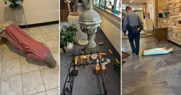 Multiple Acts of Vandalism at PA Parish Marks 100th Attack on Catholics in North America This Year