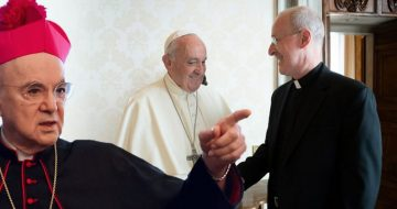 Abp. Viganò Issues 'Severe Warning' to Pope Francis in Wake of His Support for Fr. James Martin