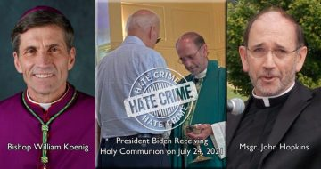 Are These Clerics Guilty of a Hate Crime Against President Biden?