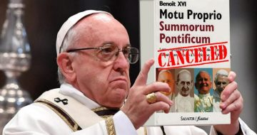 Francis Cancels Summorum Pontificum