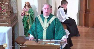 WATCH: Fr. Richard Heilman's FANTASTIC Response To Fr. Altman's Cancellation