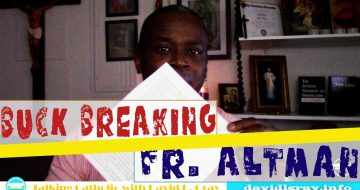 "WATCH: ""Buck Breaking"" Fr. James Altman"