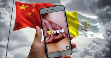 Is China Using Grindr to Blackmail the Vatican?