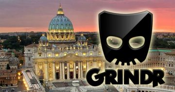 GRINDR in the Vatican?