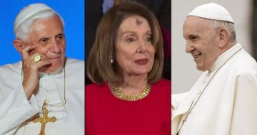 Pelosi and the Popes . . . Two Meetings, Two Versions